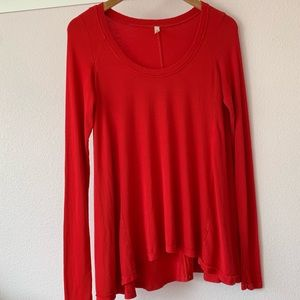 Slouchy free people tunic